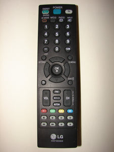 frontal view of AKB73655806 LG TV Flatscreen Remote Control
