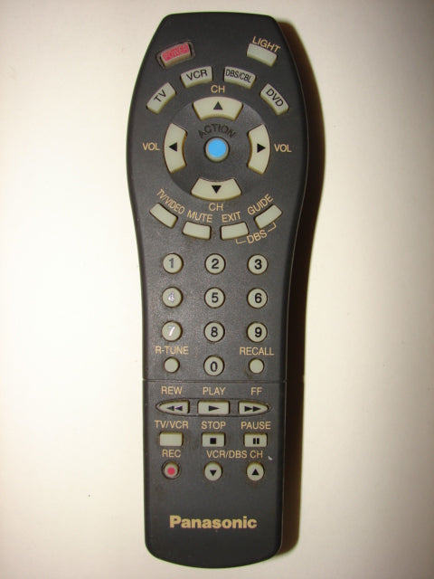 photo for front of the Panasonic Remote Control EUR5115002 UR51EC975