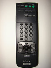 Sony Satellite Receiver DSS Remote Control RM-Y130 frontal view