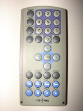 front of Insignia DVD Player Remote Control