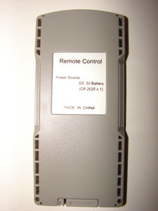back image of Insignia DVD Player Remote Control
