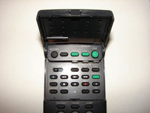 the flip up lid of the Sony Satellite Receiver DSS Remote Control RM-Y130