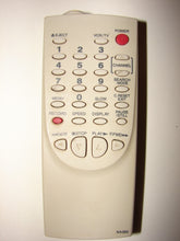 front of NA362 VCR TV Remote Control