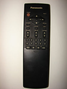 image of front of Panasonic TV VCR Remote Control UR51EC740 4 EUR51703