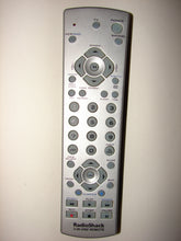 front of Radio Shack 3 in one TV DVD VCR Remote Control 15-2143