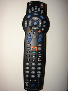 top view of the Time Warner Cable Box TV Remote Control 1055BC2-XXX-0001-0001