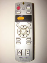 image of laser pointer Panasonic Video Projector Remote Control N2QAYB000154 80530C