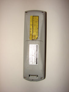 back of laser pointer Panasonic Video Projector Remote Control N2QAYB000154 80530C