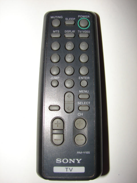 SONY RM-Y155 TV Remote Control front