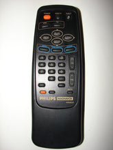 Philips Magnavox TV VCR Remote Control N9308UD U109A front view