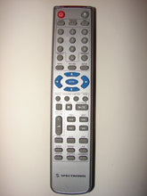 Spectroniq DVD player Remote Control KM-938-1 front view