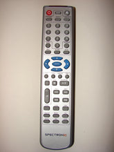 Spectroniq DVD player Remote Control HH988-1 front view