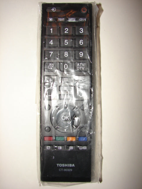 CT-90329 Toshiba DVD Player Remote Control front picture