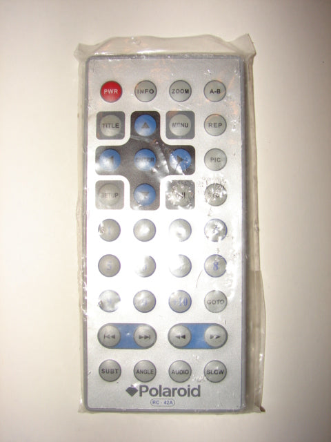 Polaroid RC-42A DVD Player Remote Control top photo