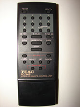 TEAC RC-343 VCR Wireless Remote Control Unit front photo
