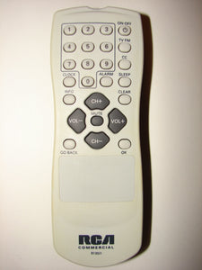 RCA Commercial R130J1 TV Remote Control frontal photo
