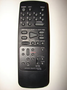front of 0766072060 VCR Infrared Remote Control