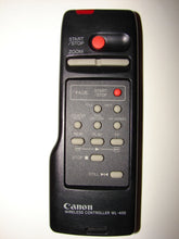 Canon Wireless Controller WL-400 Remote Control for Camcorder, video camera top view