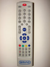 Amino TV DVD Player Remote Control 002-463 v01-01 BW0980-030 N05711 71-0980-02000 frontal view