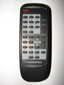 Memorex 4900 TV VCR Remote Control frontal view