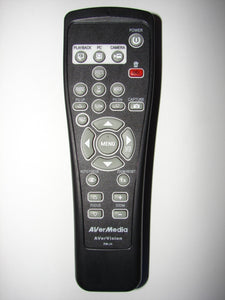 AVerMedia AVerVision RM-JA PC MAC TV Video Projector Editor Remote Control front side