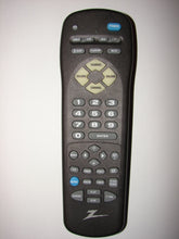 front of Zenith TV Remote Control 124-00233-P05A MBR3457CT-A