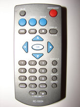 RC-1002N DVD Player Remote Control obverse view