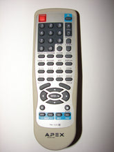 RM-1225 Apex Digital DVD player Remote Control front photo