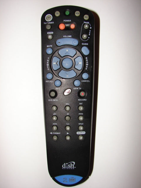 132577 Dish Network Satellite TV Remote Control obverse image
