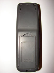 rear view of GA450SA Sharp TV Remote Control