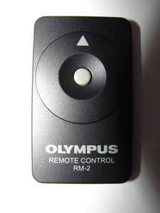 somewhat closer view of RM-2 Olympus Remote Control for Digital Cameras E C System Series