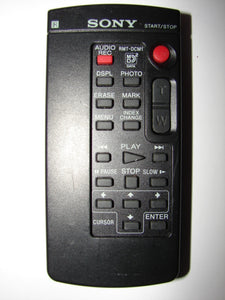 RMT-831 SONY Camcorder Video Camera Remote Control front photo