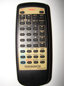 LP20049-005 Magnavox TV VCR Remote Control 727M front side image