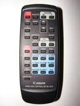WL-D74 Canon Wireless Controller Remote from Video Camera / Camcorder obverse image