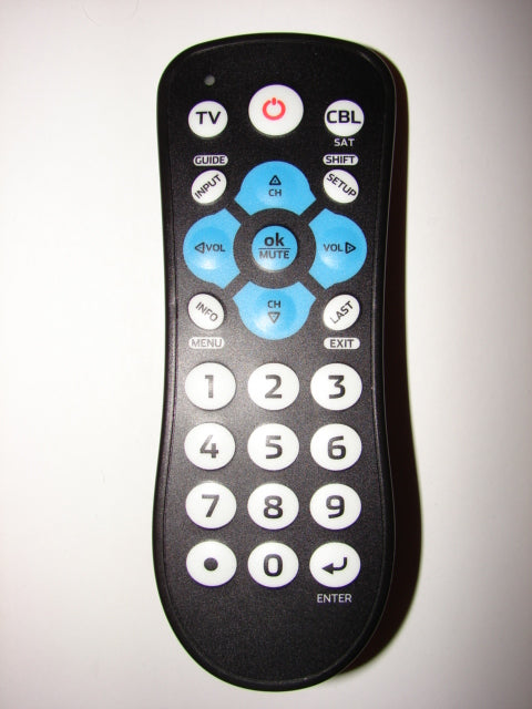 ONA16AV010 ONN TV Cable Satellite Remote Control 7252 front view image