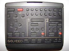 GV3070X Go Video Remote Control for 4 head dual deck VCR