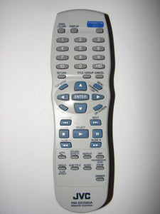 RM-SXV060A JVC DVD Player Remote Control 0408916 frontal image