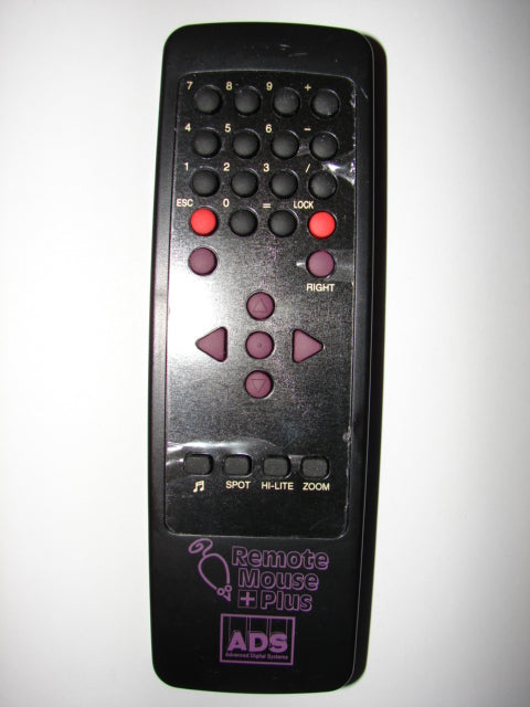 Remote Mouse Plus ADS Advanced Digital Systems Remote Control OH/S 1-3 top image