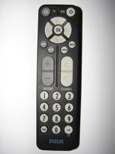 RCA TV Cable Box Remote Control RC27A top photo