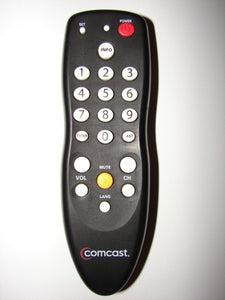 RC2392101/02B Comcast Cable Box TV Remote Control frontal view