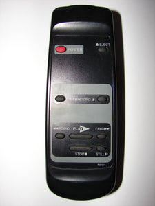 N9114 VCR Remote Control top view