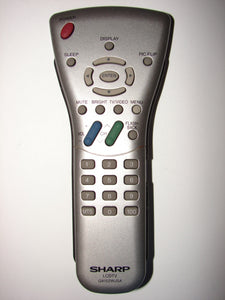 LCDTV GA152WJSA SHARP tv Remote Control front
