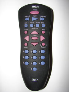 RCA DVD Player Remote Control front