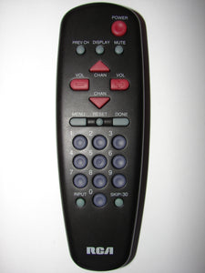 CRK63A1 S9 RCA TV Remote Control front