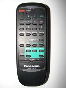 EUR644344 Panasonic Audio System Remote Control front