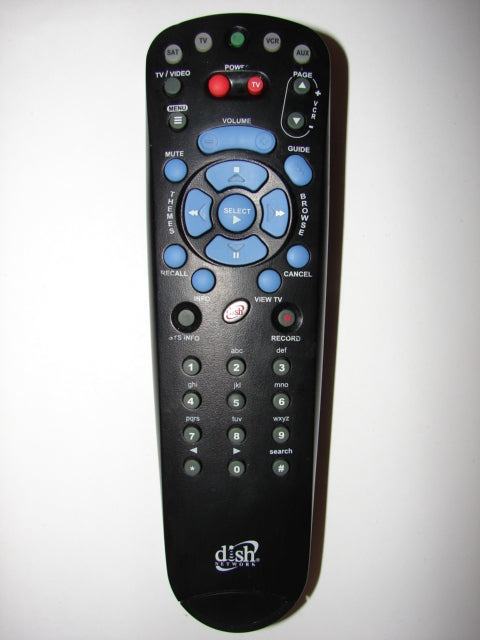 123271 Remote Control for Dish Network Satellite TV front image