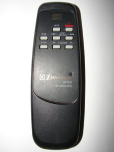 MS7638 Emerson 125-98070-0259 CD Player Remote Control front
