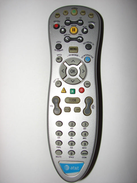 AT&T Cable TV Remote Control 530441-003-00 RC 4534801/00 3139 228 67392 BS:01 30819 0 004547 LF front