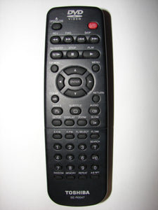 SE-R0047 Toshiba DVD Player Remote Control front