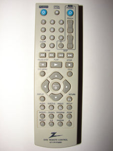 6711R1P089D Zenith DVD Player Remote Control front